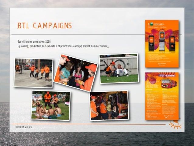Noe's Ark company presentation 2009.apr