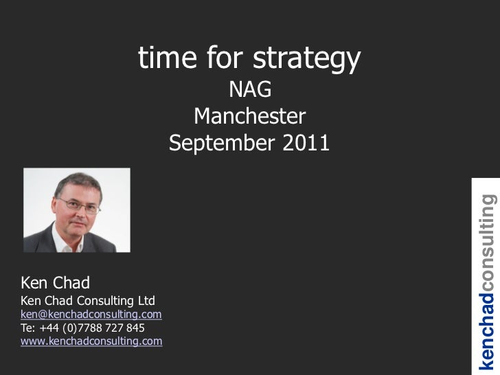 time for strategy                                 NAG                              Manchester                            S...