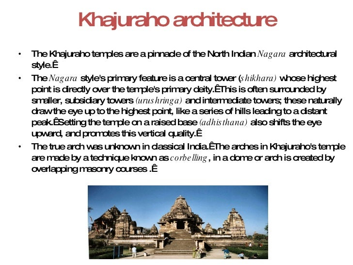 6  Khajuraho architecture  Nagara Style. Indian Temple Architecture Pdf. Home Design Ideas