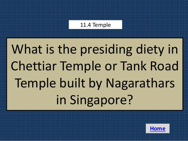 Nagarathar 360 Degrees Quiz with answers
