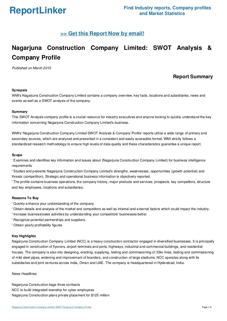 swot analysis of the garden company limited It's not necessary to hire an expert to do a swot analysis for your business, you can quite easily do it yourself after checking out a few swot analysis examples online.