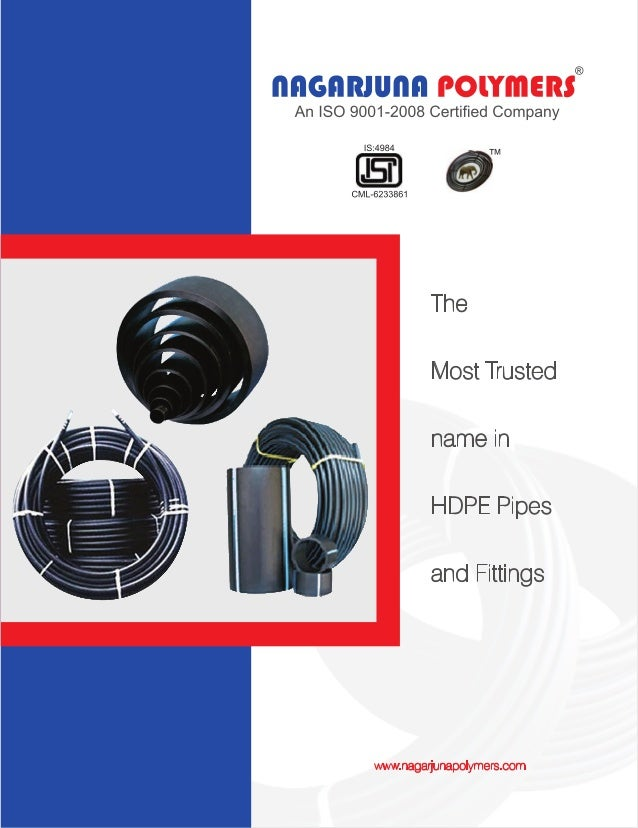 Nagarjuna Polymers, Hyderabad, HDPE Pipes & Fittings