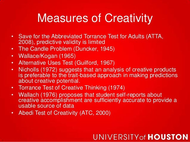 abbreviated torrance test for adults