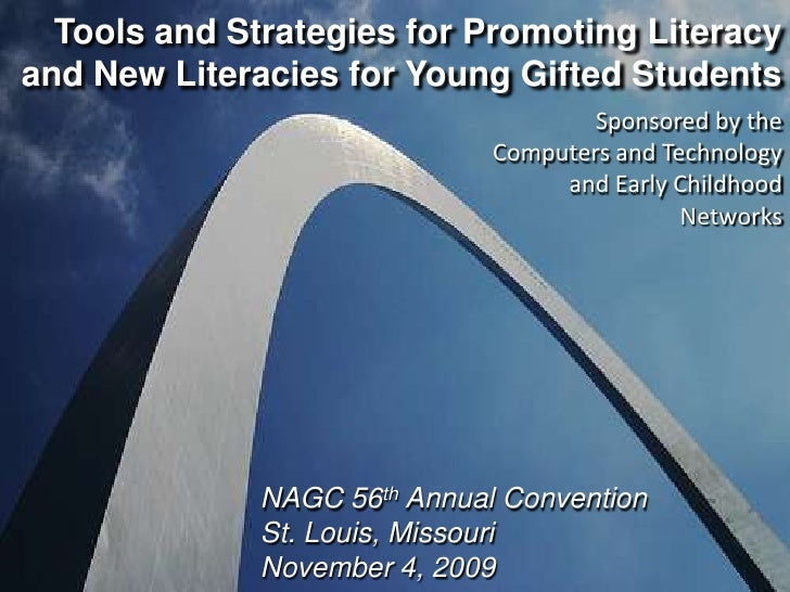 Tools and Strategies for Promoting Literacy and New Literacies for Young Gifted Students<br />Sponsored by the Computers a...