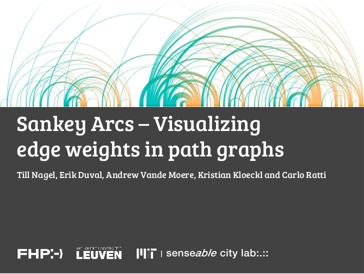 Sankey Arcs – Visualizingedge weights in path graphsTill Nagel, Erik Duval, Andrew Vande Moere, Kristian Kloeckl and Carlo...