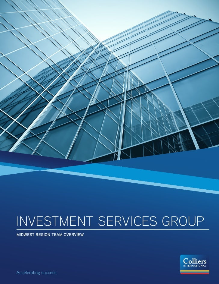 INVESTMENT SERVICES GROUPMIDWEST REGION TEAM OVERVIEWAccelerating success.