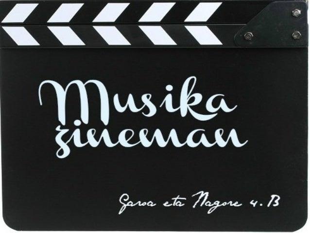 Aurkibidea1.    Historia2.    Musika konposagile ezagunak3.    Soinu banda konposagileak4.    Musika diegetika5.    Musika...