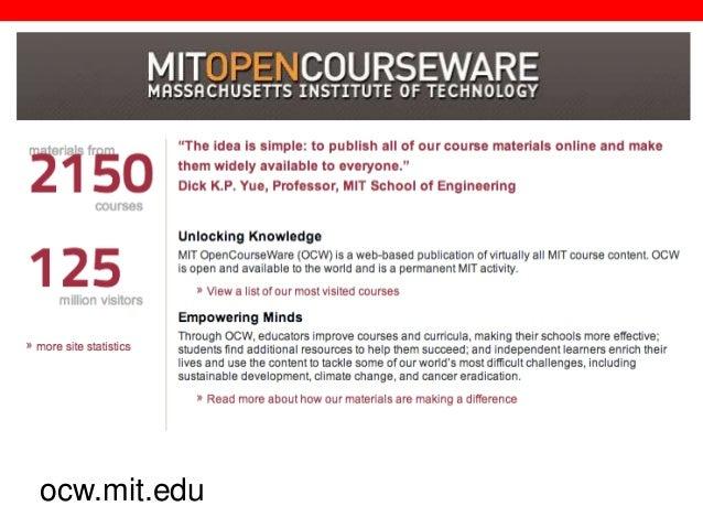 @txtbks   sparcopen.org ocw.mit.edu