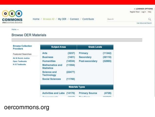@txtbks   sparcopen.org oercommons.org