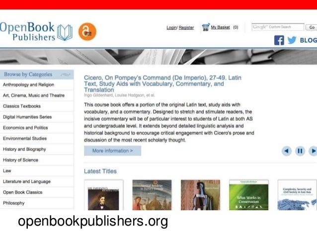 @txtbks   sparcopen.org openbookpublishers.org