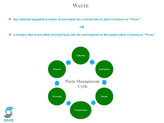 Waste Management Services : Sms envocare s waste management services