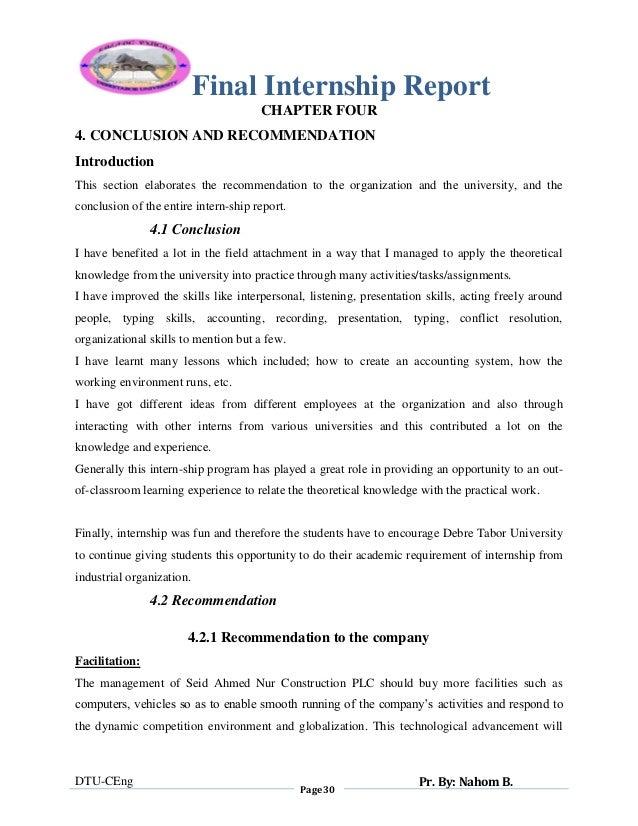 Nahom final internship report