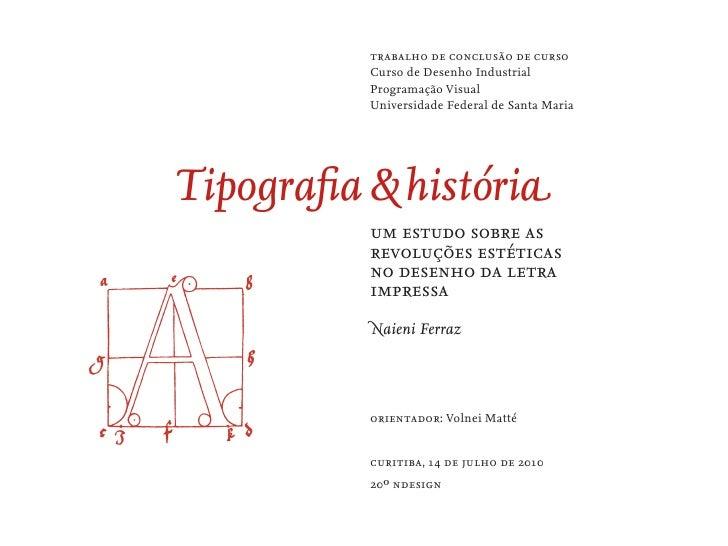 familia tipografica thesis