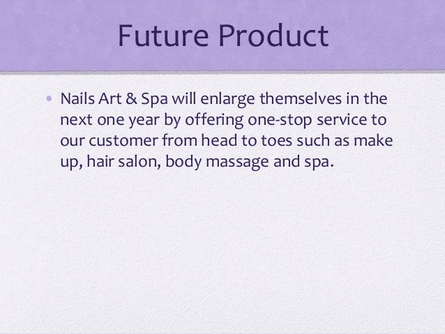 Start-up Business Planning in US - Nail, Art & Spa