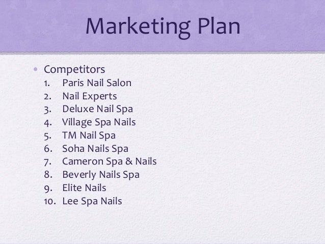 Start Up Business Planning In Us Nail Art Amp Spa