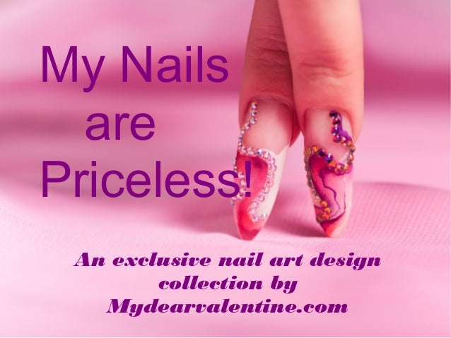 My Nails Are Priceless Nail Art