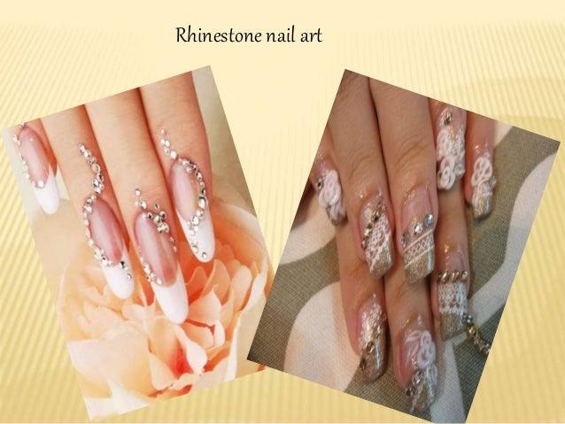 6 Rhinestone Nail Art