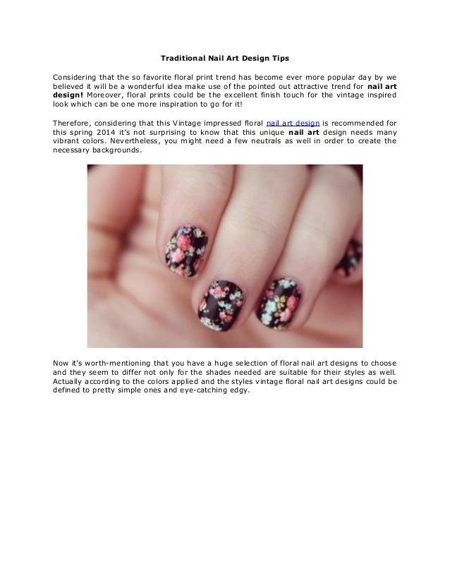 Nail Art Design Tips