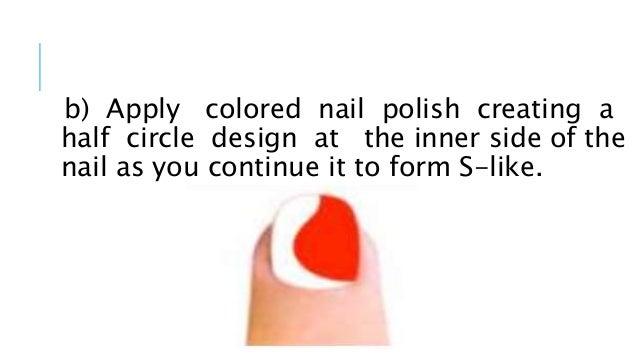 Elephant Tusk Nail Design Steps