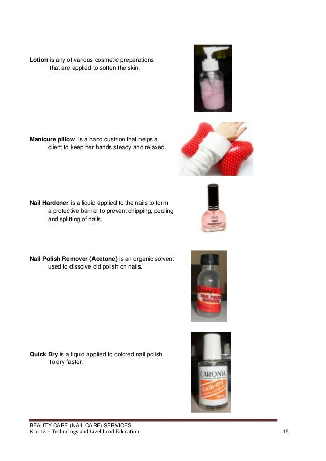 Nail care meaning
