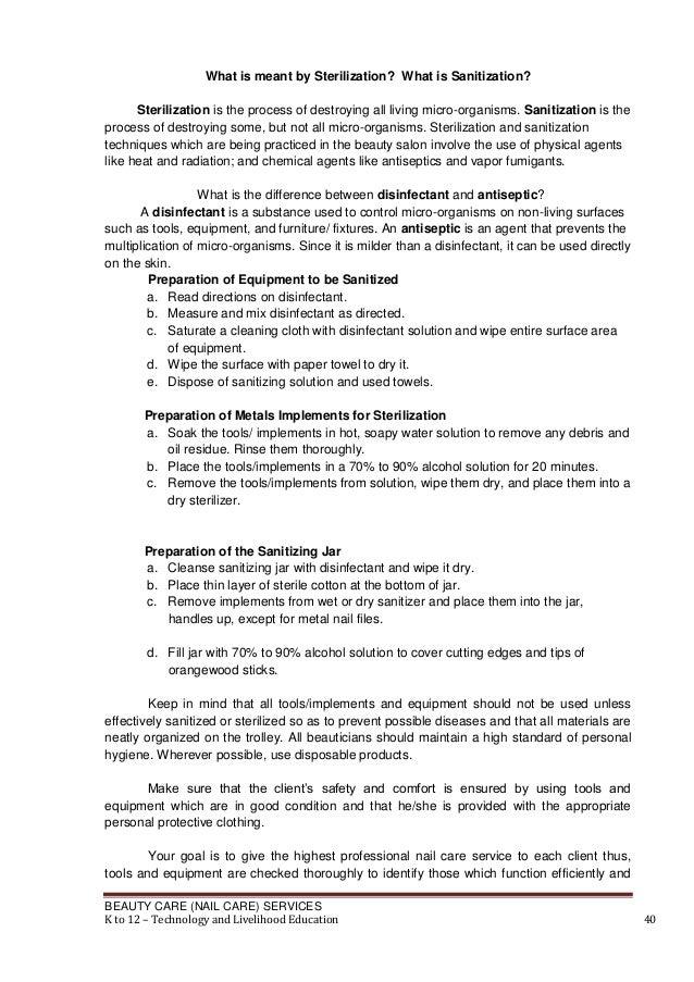 Information Sheet 11 41 BEAUTY CARE NAIL
