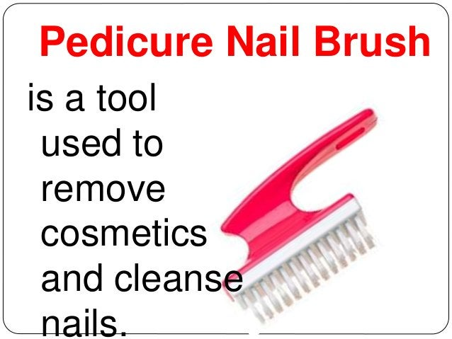 Pedicure Nail Brush  is a tool  used to  remove  cosmetics  and cleanse  nails.
