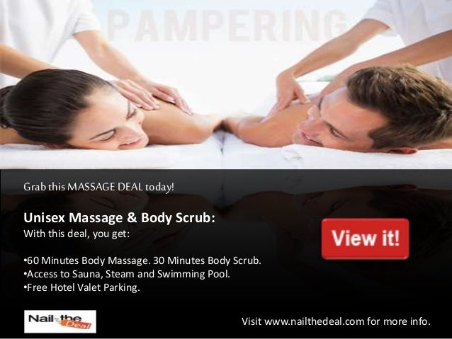 MASSAGE DEAL