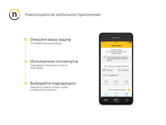 Революционное мобильное приложение Опишите вашу задачу Это займёт несколько секунд Исполнители откликнутся Подходящие спец...