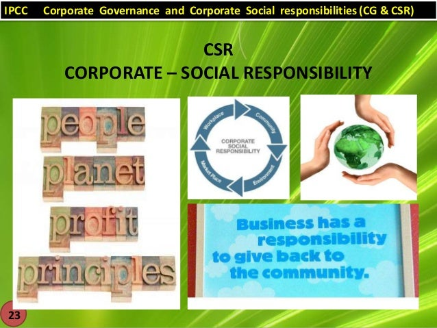 Ethical and socially responsive business