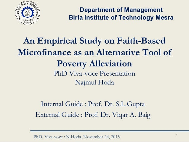 Doctoral thesis poverty