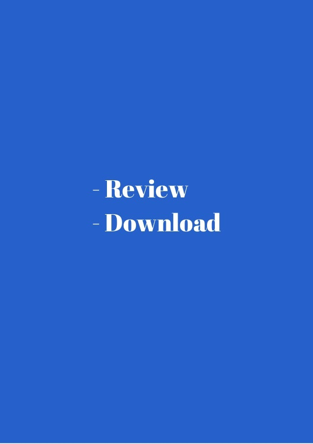- Review  - Download