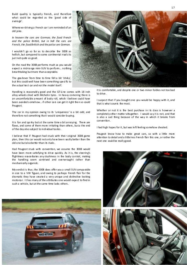 Naked motoring magazine NOV 2017 LEONA CHIN Page 26-29