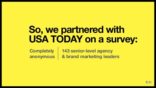 What leads  to the best advertising? Longstanding relationships