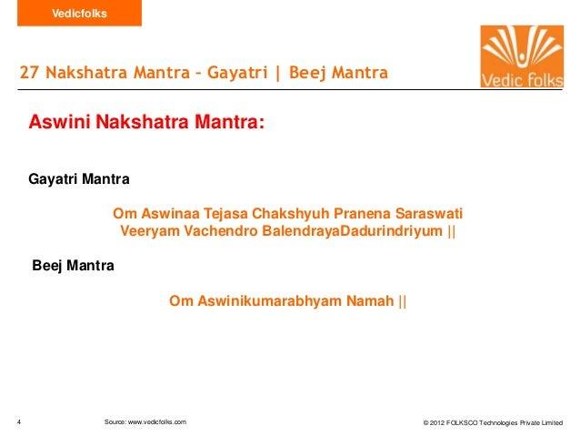 Nakshatra mantra