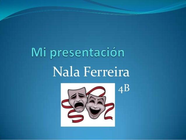 Nala Ferreira4B