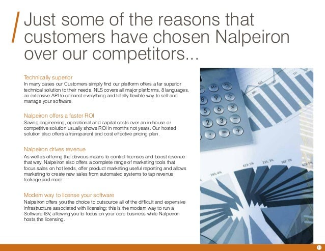 nalpeiron tco whitepaper Nalpeiron was founded 20 years ago (in 1991) and has grown to become a leader in the software license management and analytics business nalpeiron offers hosted software analytics and licensing solutions that reduce infrastructure costs, drive user adoption and generate new revenues while providing deep insight into software usage.