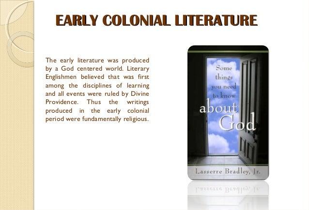 Colonial latin american literature
