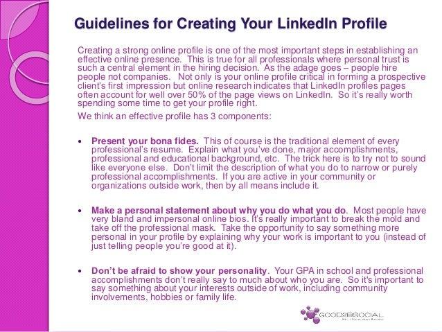 how to set interests on linkedin