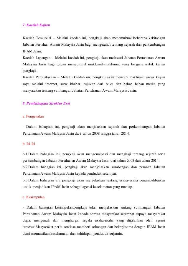 Contoh Proposal Kerja Kursus Sejarah Tingkatan 6 Stpm Penggal 2 20