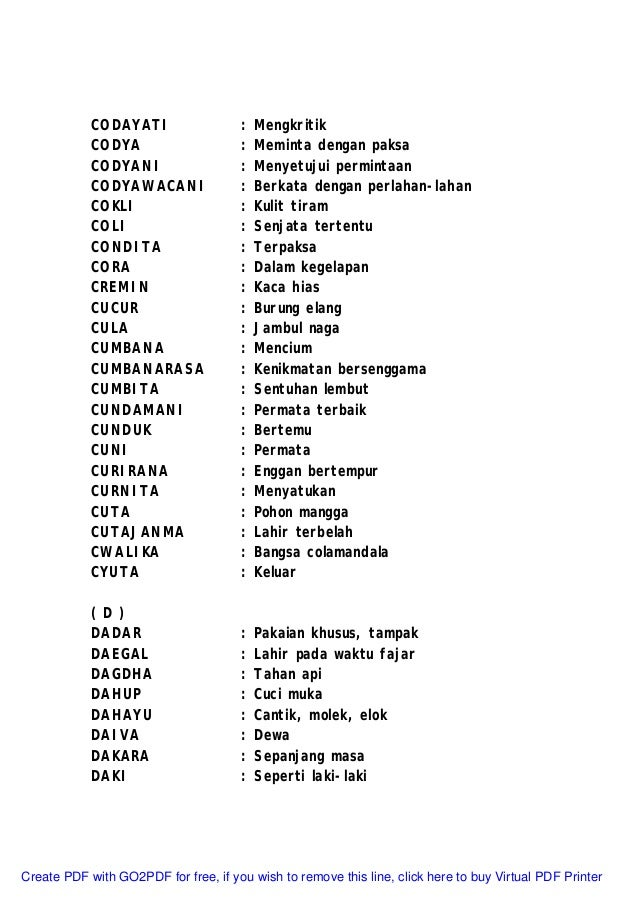 Islam laki pdf bayi laki nama