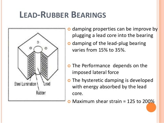 Structural Damping Coefficient Of Rubber Products Seismic