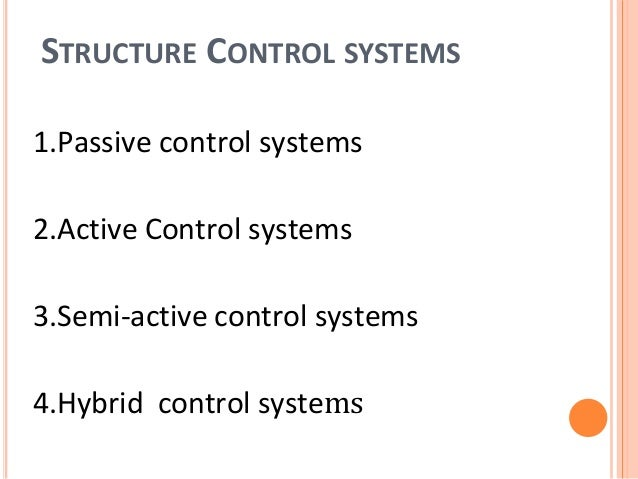Structure Control System