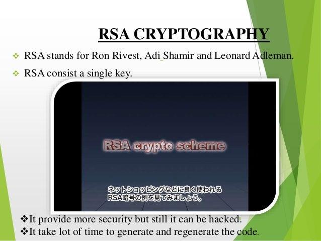 Naman quantum cryptography