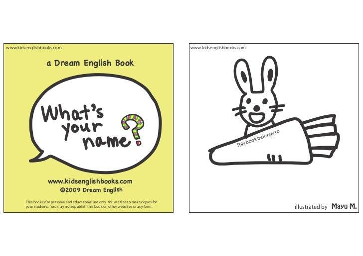 www.kidsenglishbooks.com                                                                      www.kidsenglishbooks.com    ...