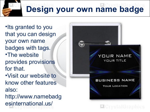 Design Your Own Name Tags