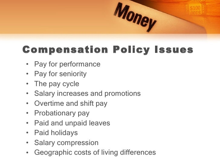 factors determining pay Part 4   compensation establishing strategic pay plans chapter 11 after studying this chapter, you should be able to: list the basic factors in determining pay rates.