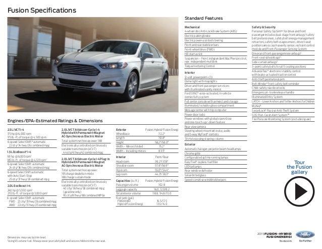 2015 Ford Fusion Near Middletown De Ford Dealer Serving