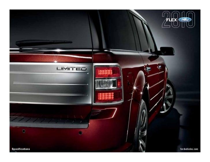 FLEX     Specifications          fordvehicles.com