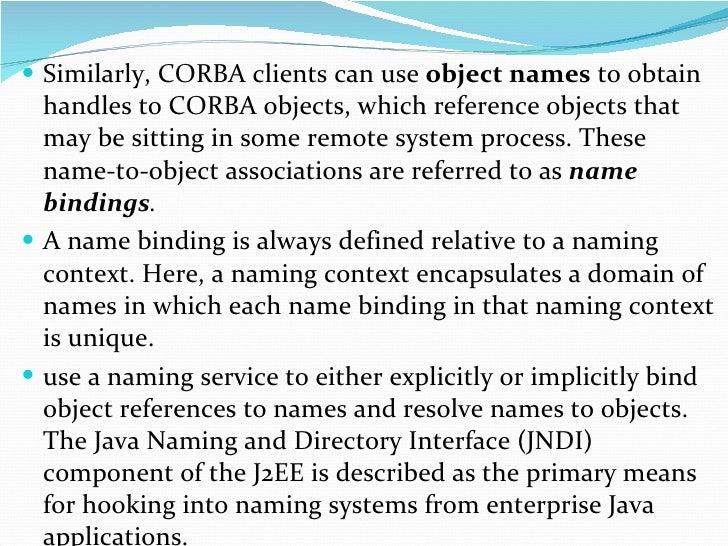 Name services Slide 3