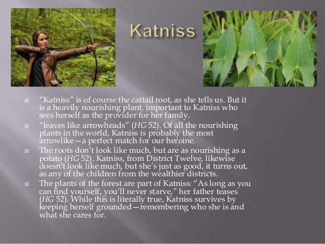 Names In The Hunger Games